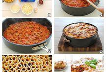 Dinner-type recipes