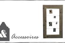 Steigerhouten accessoires