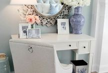 make-up desk