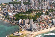 Brasil / QueridaMulher.com apresenta PINS dos lugares para visitar no Brasil