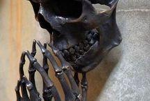 Beautiful metal art