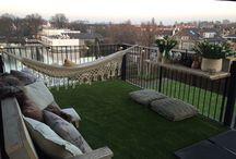 BALKONS / Inspiratie voor balkons; creatief tuinieren en relaxen in een kleine ruimte. Toffe balkontips