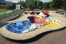 Скейт зона