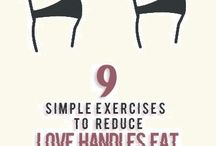 HOW TO REDUCE LOVE HANDLES
