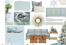 Benjamin Moore Color of the Year 2014: Breath of Fresh Air / Benjamin Moore's paint color of the year for 2014 is Breath of Fresh Air! So serene and neutral!