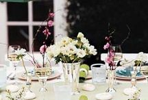 Set the table. Decorating ideas