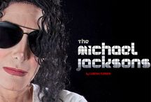 The Michael Jacksons | Book / A book of portraits, stories and analysis of Michael Jackson tribute artists + impersonators.