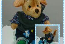 Triciclo de Pañales Diy / el mejor detalle para regalar a  nuestras futuras mamis :) www.theworldkats.com