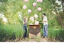 gender reveal shoot