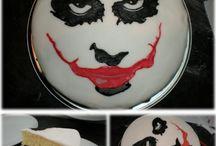 joker batman cake