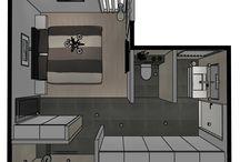 Voorbeeld badkamers Sanidrõme / Een verzameling van badkamer inspiratie foto's van door Sanidrõme gerealiseerde badkamers.
