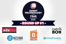 Event Technology Of The Year Award 2015 #ETY15 / Event Technology of the Year Award will be one award only with no subcategories. It is the first award that goes to the best of the best in #Eventtech.   We've grouped some of the best judges from the event planning world but mostly from media, as this is a strongly media led award.  The award will be announced just after the end of the second day of IMEX America, on October 14th at the Palazzo in Las Vegas.