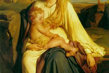 Religious Art / Mary with child