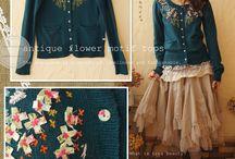 Mori girl fashion