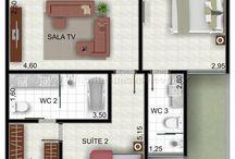 Planta de casas / Planta de casas