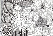 zentangle / Mainly tutorials but also some amazing examples of work.