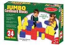 Building Blocks for Children / Build it, knock it down, then build it again! The possibilities are endless with building blocks!