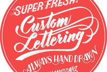 Creative lettering / Ffomts