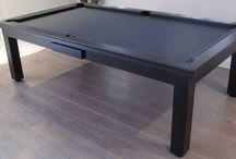 Our Colour E4 (black) - Luxury Pool Tables / A selection of our Pool Tables in various styles and wood types, all finished in Wood Colour E4