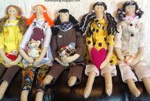handmade куколки Тильда / сделано своими руками