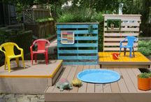 Kid's Yard / by Poteau Pets
