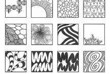 Zentanglemønstre
