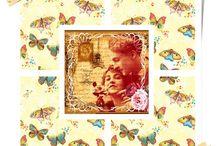 vintage collage