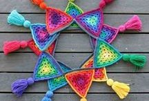Crochet triangulos