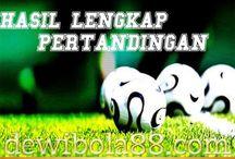 SCORE BOLA / Dewibola88.com | HASIL LENGKAP PERTANDINGAN BOLA