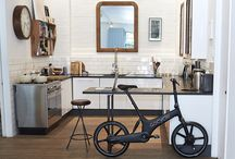 Living / Gocycle fits right in with your everyday life