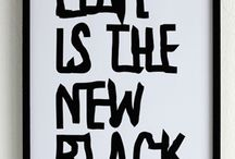 WORDS are the NEW BLACK