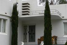 Art Deco/ Art Moderne houses