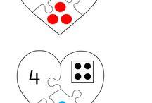 Cijfers met kleuters / Werkideeen voor kleuters