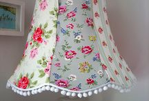 Shady goings on... / Lampshade inspiration