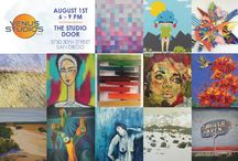 OASIS August 2015 / Exhibition of Palm Desert Artists - collaboration with Venus Studios Art Supplies