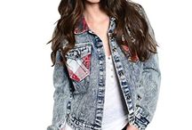 Grunge Womans Jackets