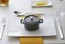 Staub / Recipes, entertaining ideas, presentation, you name it, Staub cast iron cookware has it all!!