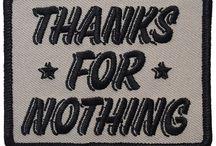 slogan patch