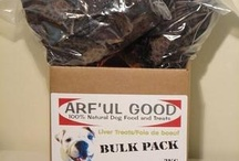Arf'ul Good Products / A collection of our ALL NATURAL and ALL CANADIAN dog treats!
