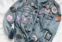 Denim Jackets + Patches