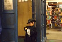 CRRL-Con: TARDIS Materialises at the library! / The Doctor loves books! And we love The Doctor