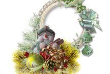 Vánoce-vlastní výroba / obrázky