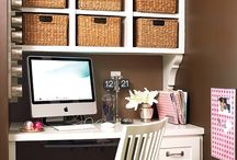 Office / craft room / by Angela Najem