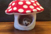 pelíšek pro ježečka