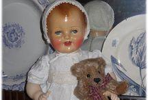 "Vintage french Dolls ""Raynal"" / Mes poupées de la Marque Raynal"