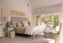 Summer home bedroom