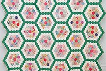 grandmother flower garden quilt