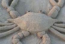 scultore di sabbia