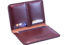 Leather / Denim / Canvas - Wallets / by Chris Smith
