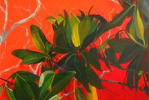 RED - Expressionism Group Show / Expressionism Art Group Exhibition co-curated by Richard Denny and 19 Karen contemporary Artspace at Sofitel Hotel Broadbeach Gold Coast